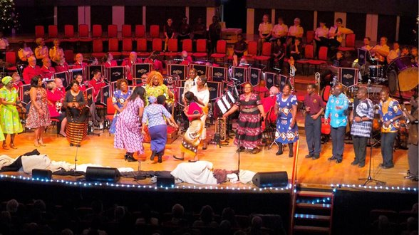 African Praise Choir at Symphony Hall